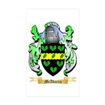 McAdarra Sticker (Rectangle 50 pk)