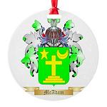 McAdam Round Ornament