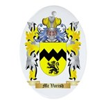 Mc Varish Oval Ornament