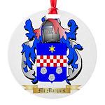 Mc Marquis Round Ornament