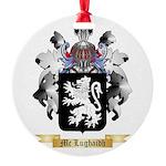 Mc Lughaidh Round Ornament