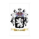 Mc Lughaidh Sticker (Rectangle 50 pk)