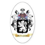Mc Lughaidh Sticker (Oval 10 pk)