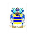 Mc Gregor Sticker (Rectangle 50 pk)
