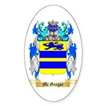 Mc Gregor Sticker (Oval 50 pk)