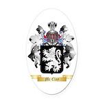 Mc Cloy Oval Car Magnet