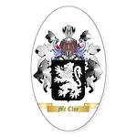Mc Cloy Sticker (Oval 10 pk)