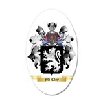 Mc Cloy 35x21 Oval Wall Decal