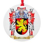 Mazzullo Round Ornament
