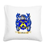 Mazzo Square Canvas Pillow