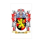 Mazziotti Sticker (Rectangle 50 pk)