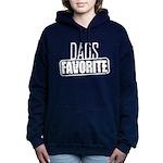 Dad's Favorite Women's Hooded Sweatshirt