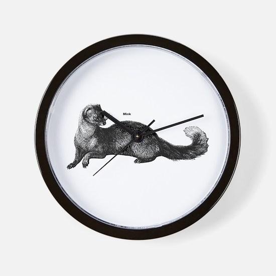 Mink Wall Clock