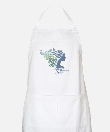 Woman Who Sail Logo Apron