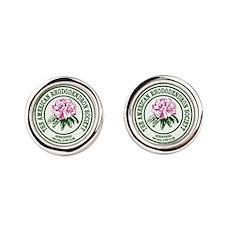 A R S Logo Round Cufflinks