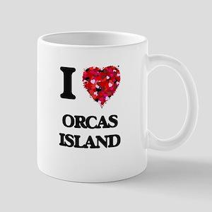 I love Orcas Island Washington Mugs