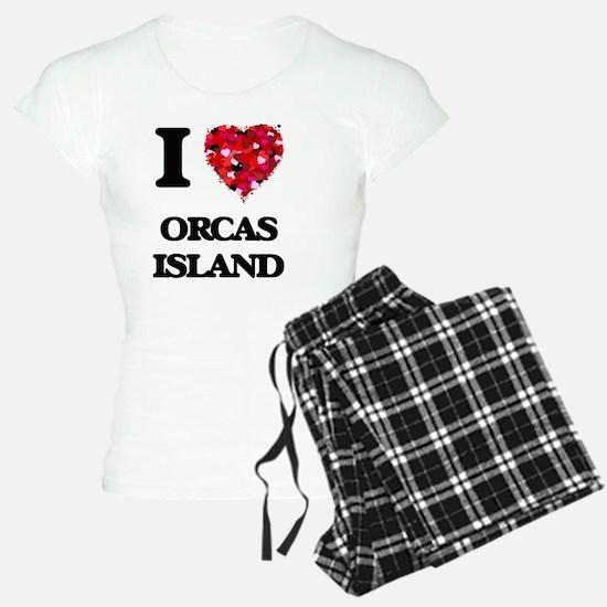 I love Orcas Island Washing Pajamas