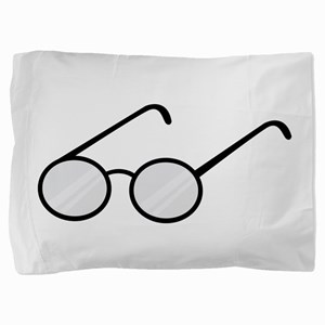Eye Glasses Pillow Sham