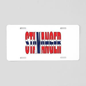 Stavanger Aluminum License Plate
