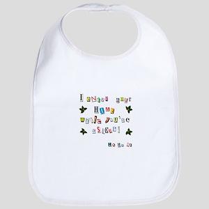 Santa's note Baby Bib