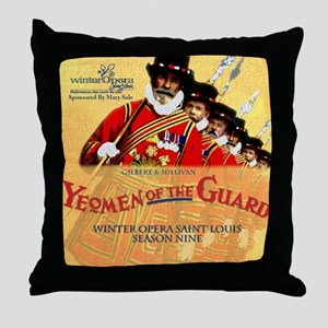 Yeomen of the Guard Throw Pillow