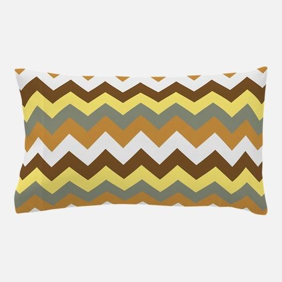 Chevron pattern seamless vector arrows Pillow Case