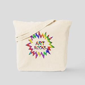 Art Rocks Tote Bag