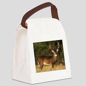 Beautiful Buck Canvas Lunch Bag