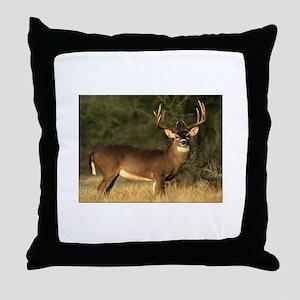 Beautiful Buck Throw Pillow