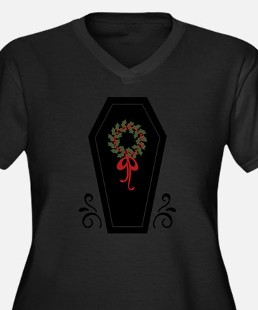 Vampire Holiday Coffin Plus Size T-Shirt