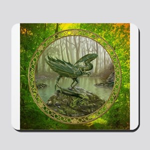 Earth Leaf Dragon Mousepad