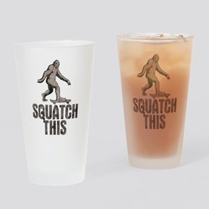 Squatch This Drinking Glass