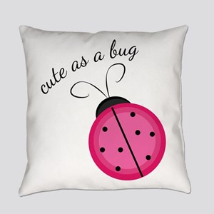 Cute As Bug Everyday Pillow