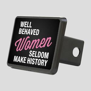 Well Behaved Women Rectangular Hitch Cover