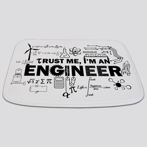 Trust Me I'm An Engineer Bathmat