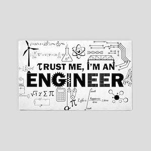 Trust Me I'm An Engineer Area Rug