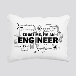Trust Me I'm An Engineer Rectangular Canvas Pillow