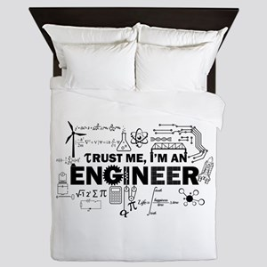 Trust Me I'm An Engineer Queen Duvet
