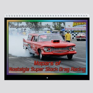Nostalgia Super Stock Wall Calendar