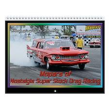 Nostalgia Super Stock Wall Calendar
