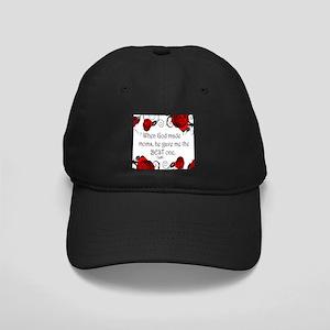 When God Made Moms Black Cap
