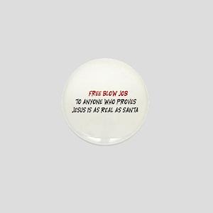 Free Blow Job Mini Button