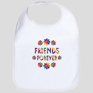 Friends Forever Flowers Bib