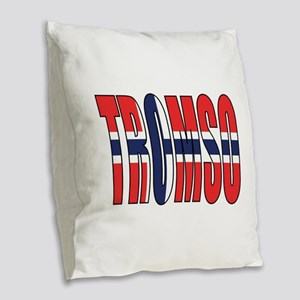 Tromso Burlap Throw Pillow