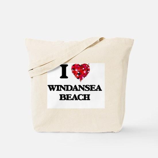 I love Windansea Beach California Tote Bag