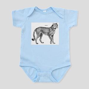 Cheetah Infant Creeper
