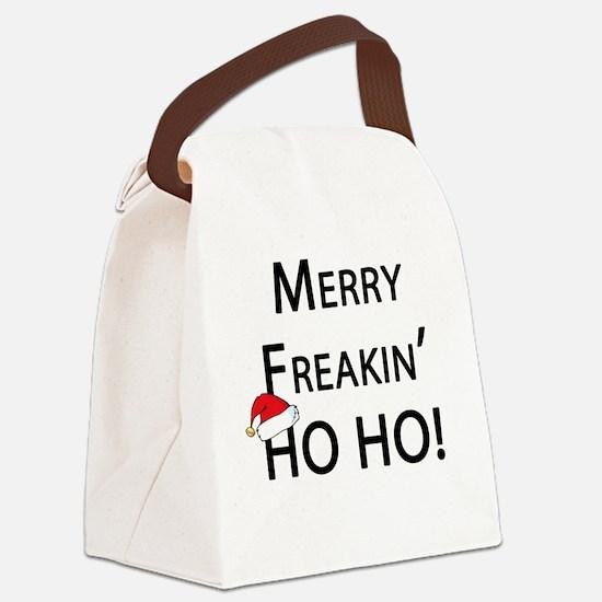 Unique Yo ho ho christmas Canvas Lunch Bag