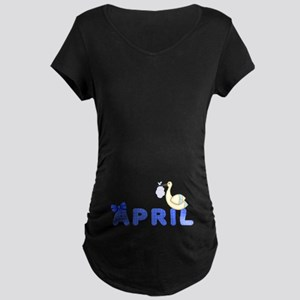 Maternity Month Due Maternity T-Shirt