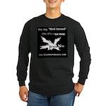 mind controlblack Long Sleeve T-Shirt