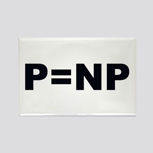 P=NP Rectangle Magnet